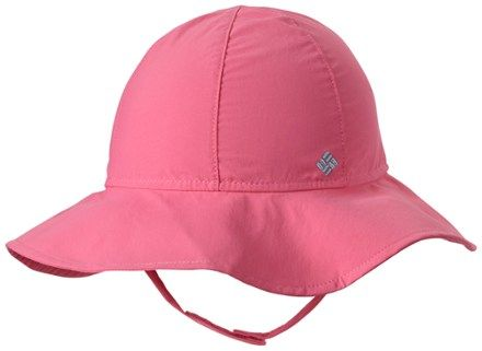 76cb4486 Columbia Boy's Packable Booney Hat - Toddlers' Wild Geranium/Clear Blue