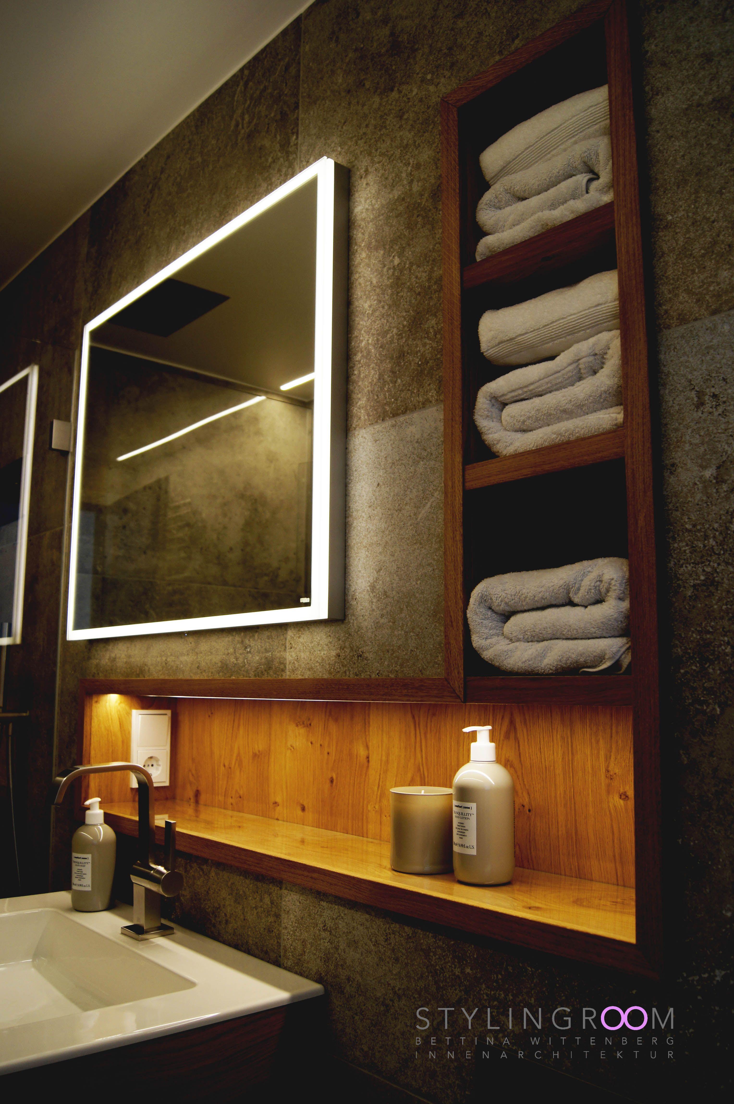 Bad Interior   Badezimmer nischen, Badezimmereinrichtung, Waschbecken