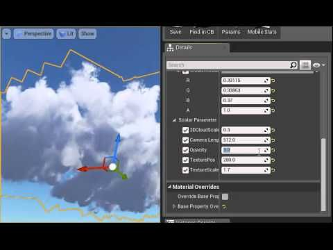 Procedural clouds in ue4 httpsdropboxs procedural clouds in unreal engine 4 malvernweather Choice Image