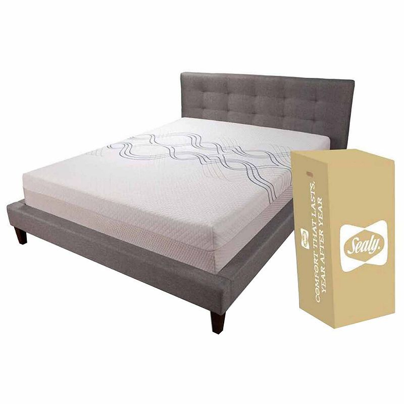 Sealy 10 Memory Foam Mattress In A Box Memory Foam Mattress Mattress Foam Mattress