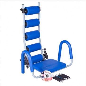 Banco abdominales Rocket - Ideal para realizar tus ejercicios de abdominales sin dañar la columna ;) ¡Pruébalo!
