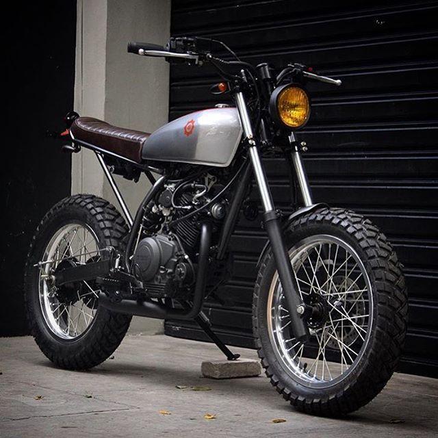 Benditamacchina 125 Cc S Of Yamaha Bikes Pinterest Motorrader Und Ofen