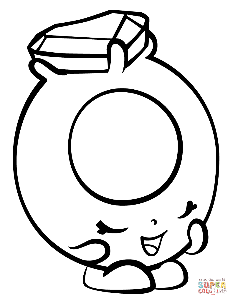 Ring a Rosie with Hearts Shopkin coloring page | Free Printable Coloring  Pages | Shopkins colouring pages, Shopkin coloring pages, Coloring pages