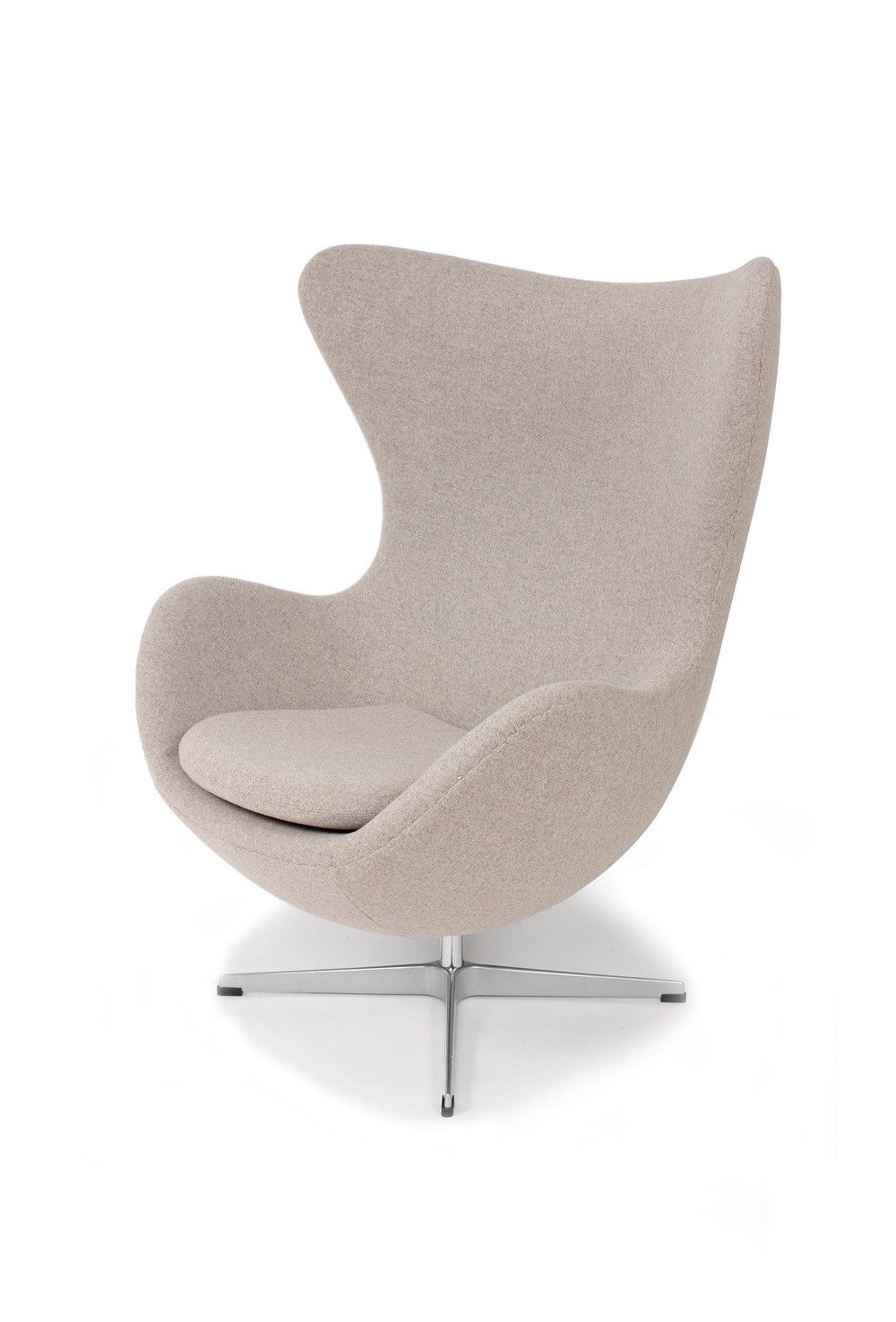 Captivating Mid Century Egg Chair   Wheat