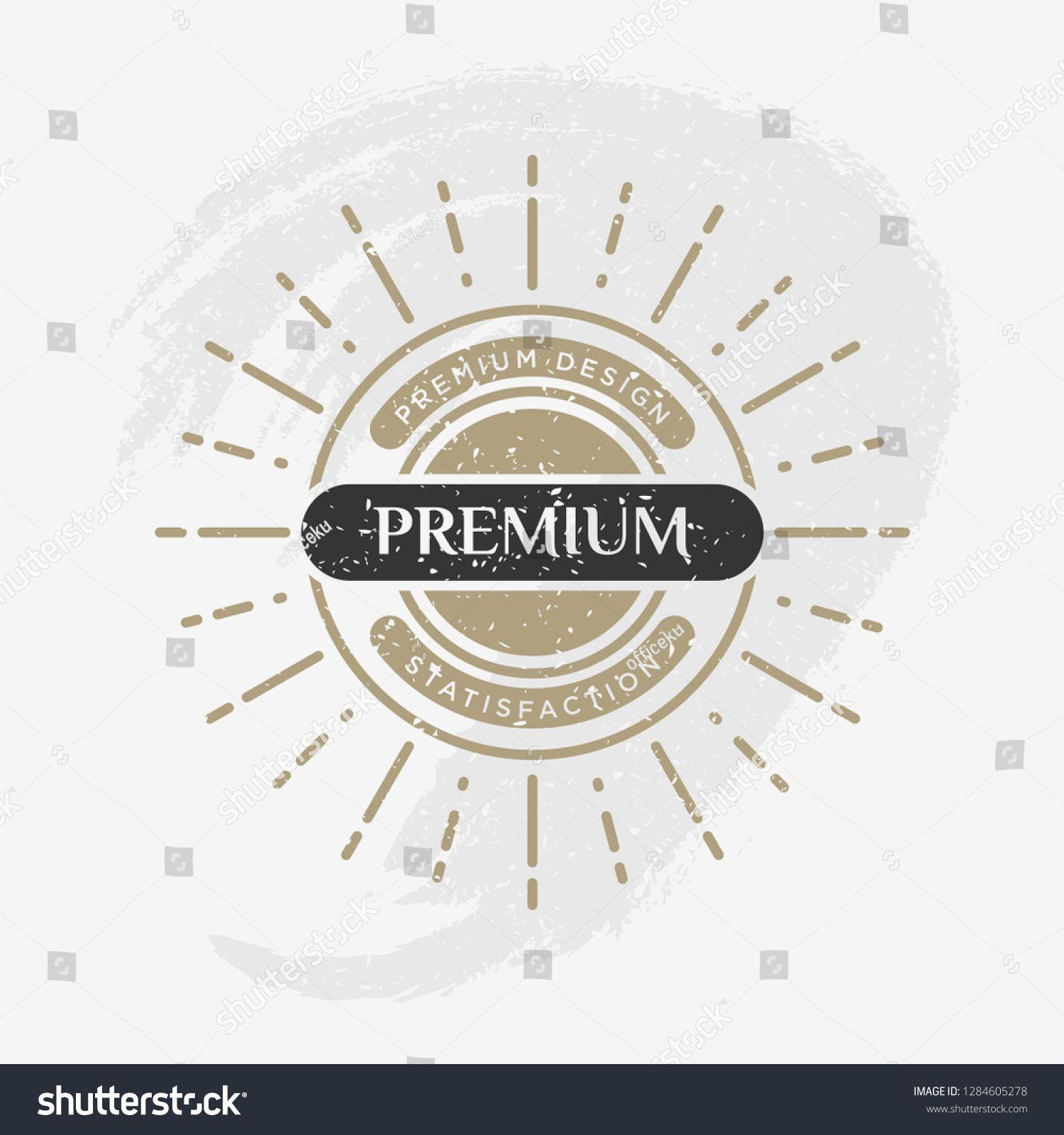 Retro Vintage Insignia Vector Design Element Business Sign Template Vintage Logo Design Element In Vintage Style Vintage Logo Design Logo Design Sign Design