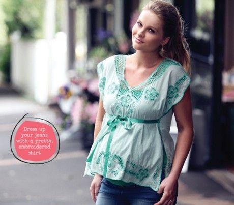 Maternity fashion in OHbaby! magazine. ohbaby.co.nz and OHbaby! Interactive Magazine for ipad
