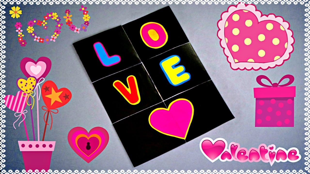 Diy Love Endless Card Tutorial Card Making Ideas