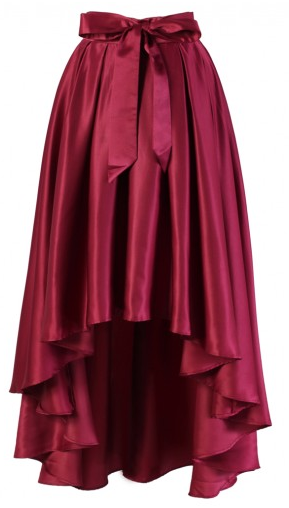 waterfall skirt in red http://rstyle.me/n/isvr6pdpe