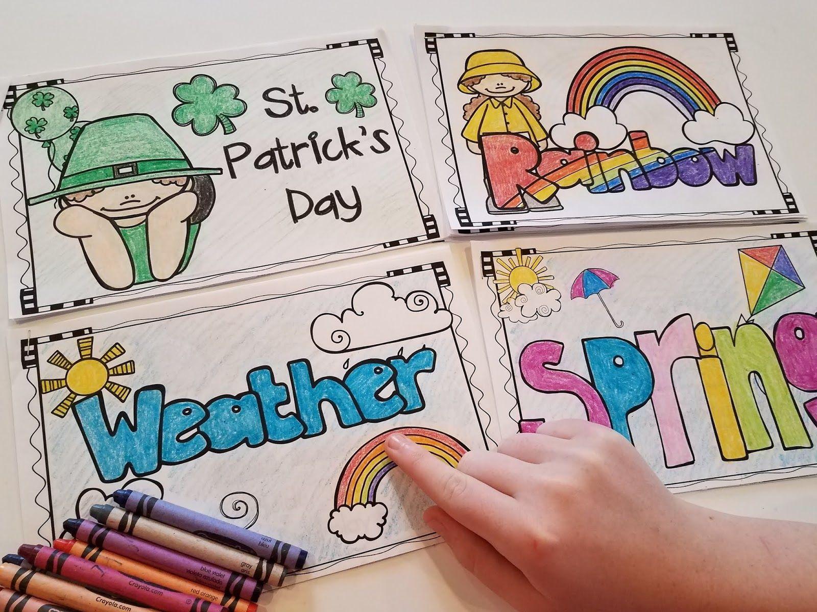 March Activities For Kindergarten St Patrick S Day