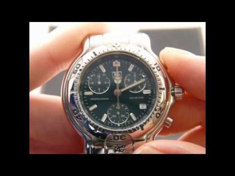 How to set all the hands on a TAG Heuer Chronograph ETA ...