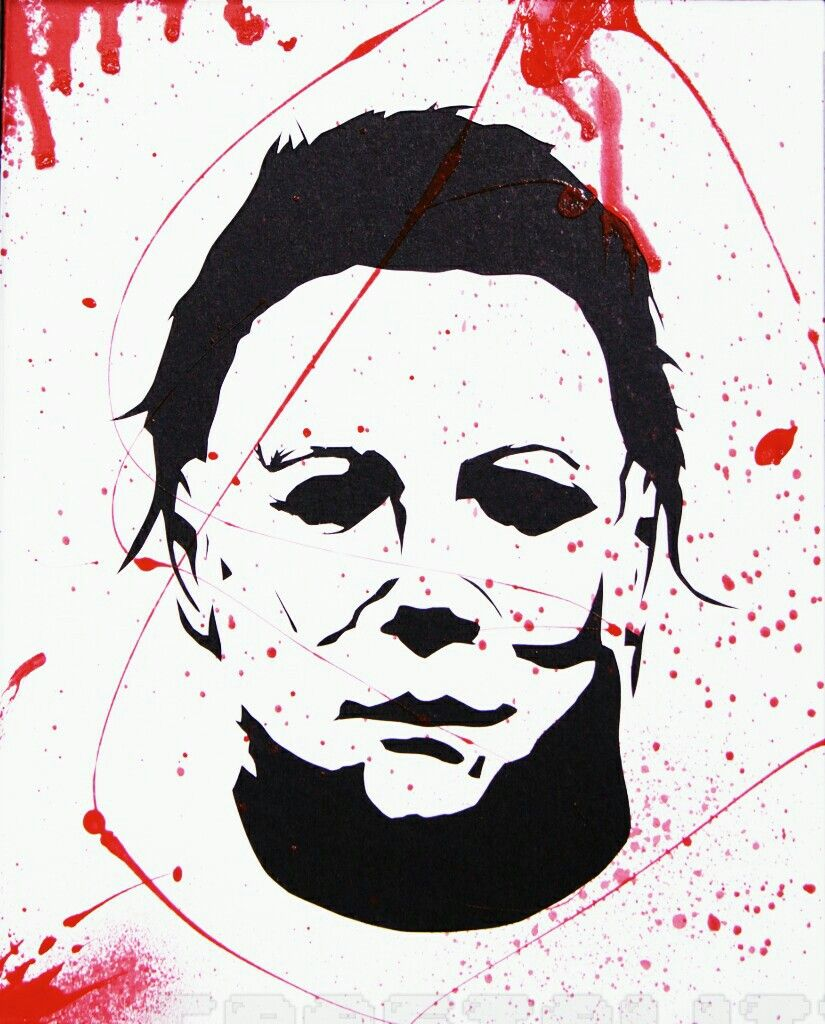 Pin By Horror And More Horror On Michael Myers Halloween Stencils
