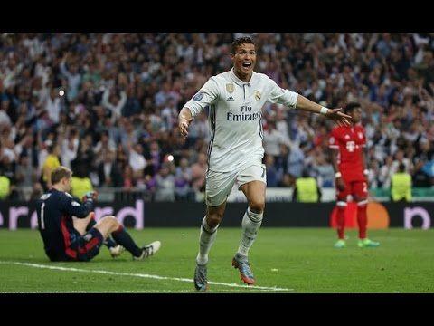 Real Madrid 4 2 Bayern Munich Cristiano Ronaldo Hat Trick All Goals Bayern Munich Bayern Real Madrid
