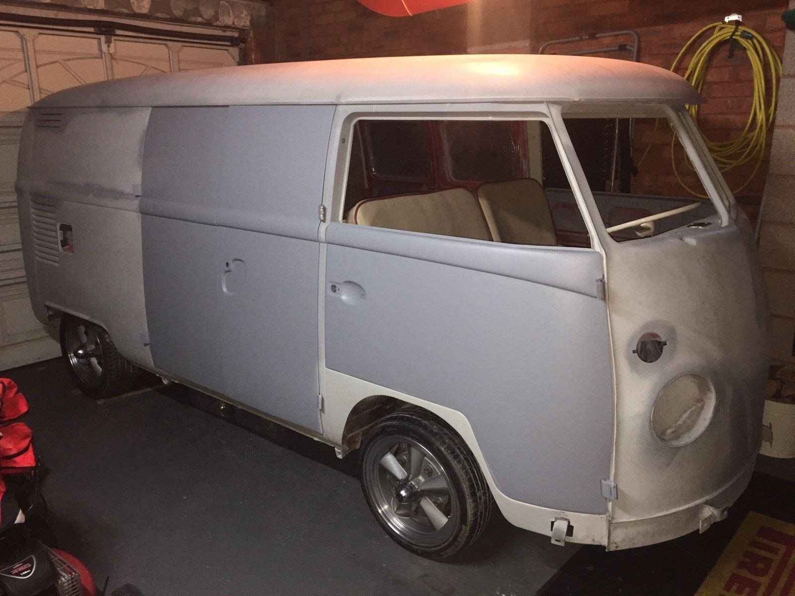 1633f8bd9b eBay  VW Splitscreen 1967 panel van.. rust free.. easy project