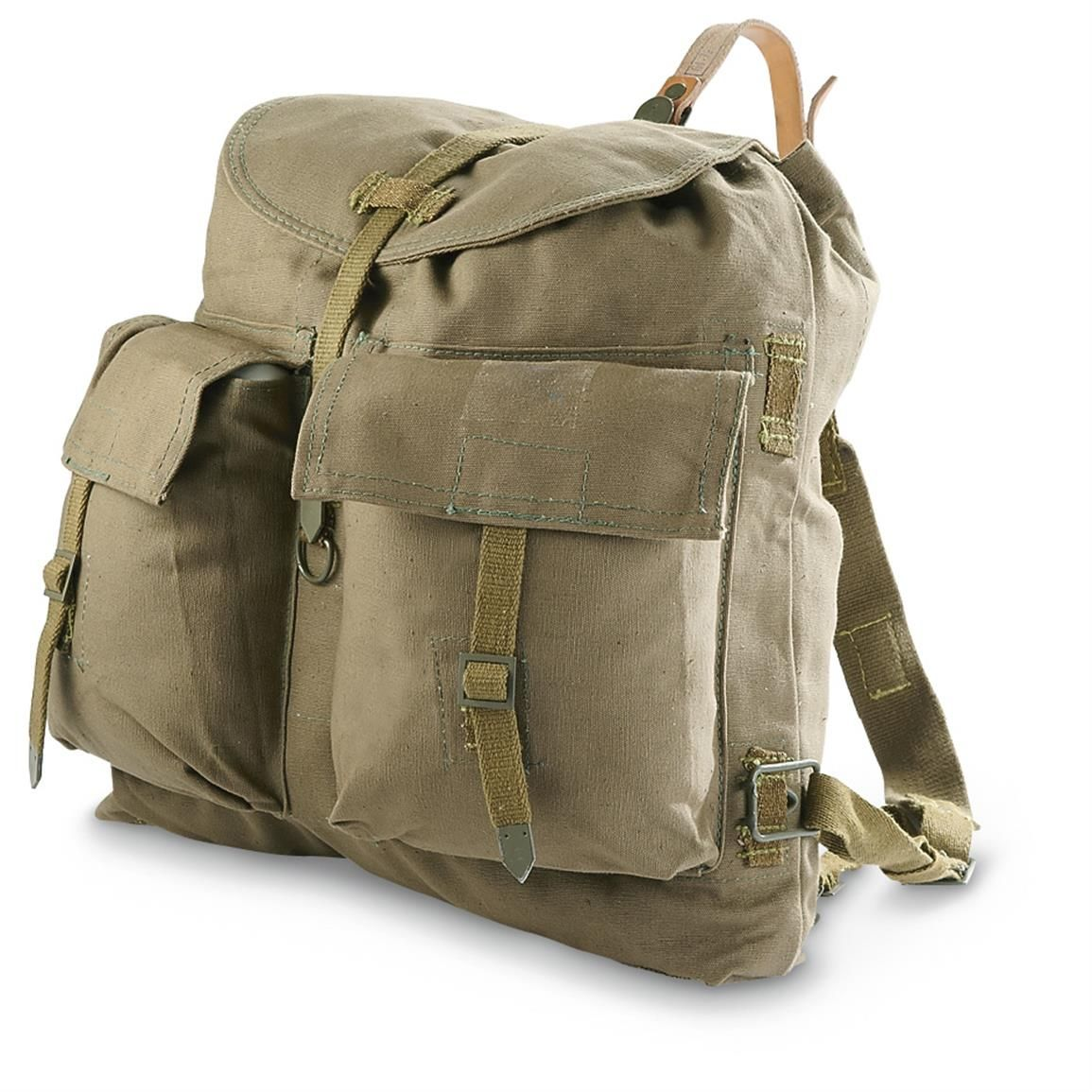 93f1e90efc70 3 Used Czech Military Surplus Rucksacks