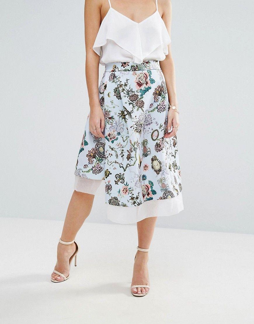 106b02680 Fgh Petite Spodnica Wzorzysta 36 7543084868 Oficjalne Archiwum Allegro Latest Fashion Clothes Fashion Clothes