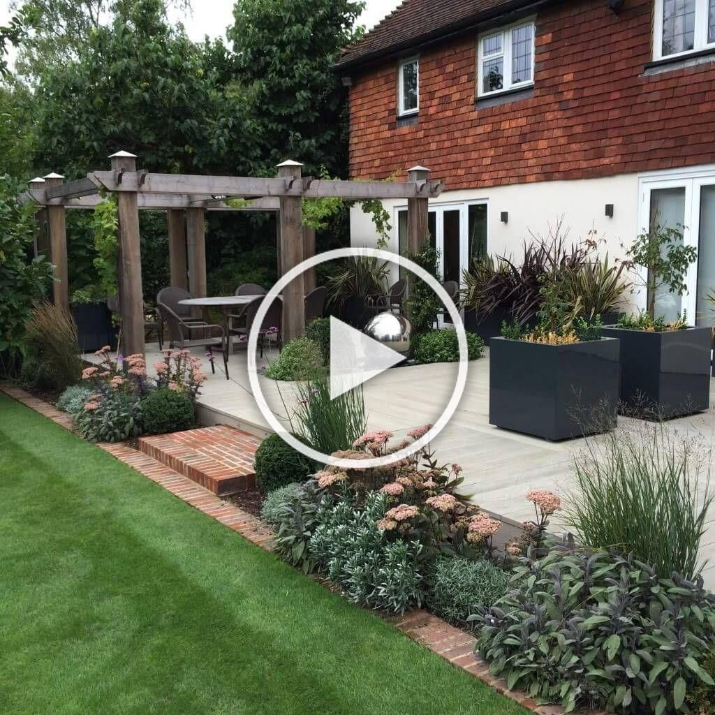Pin By Eric Palmer On Garden Decor Ideas Front Garden Design Garden Design Small Front Gardens