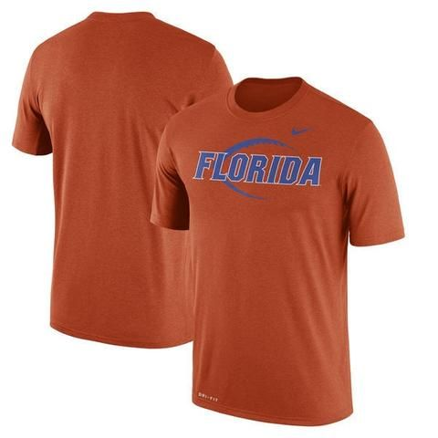 Florida Gators Nike Football Icon Legend Performance T-Shirt - Orange