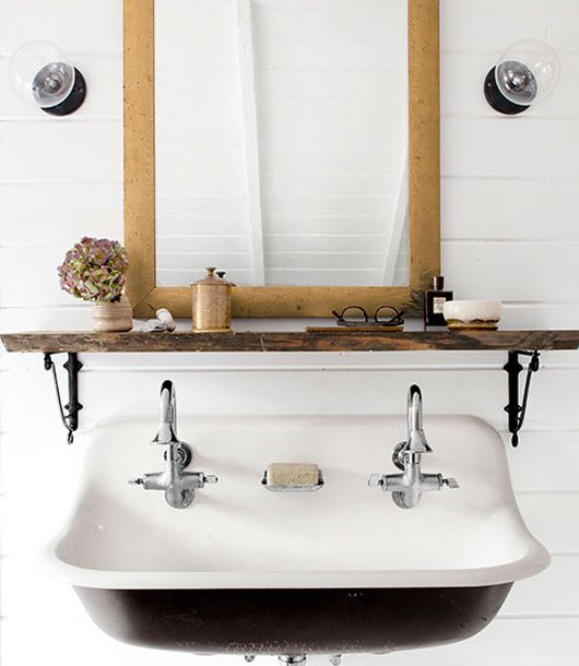 8 Storage Ideas For Bathrooms With Floating Sinks Cottage