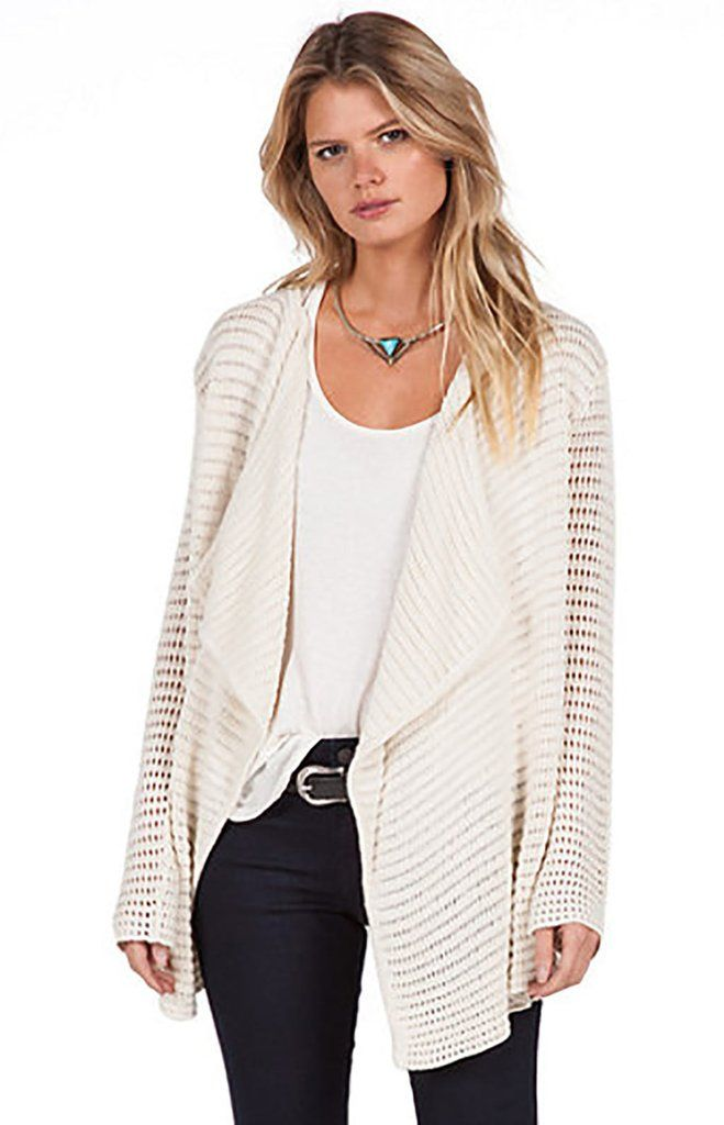 c1e5329bca3 Volcom Womens Sweater Hold On Tight Wrap