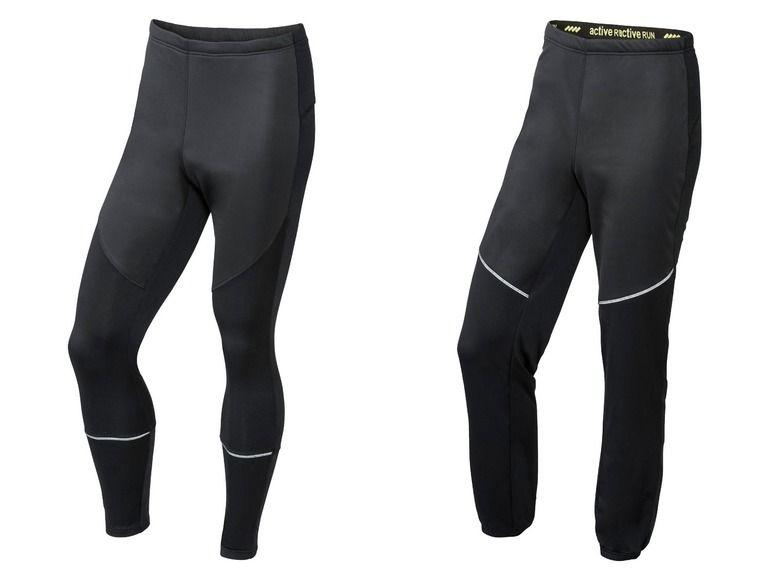 CRIVIT® Pánské běžecké softshellové kalhoty (With images