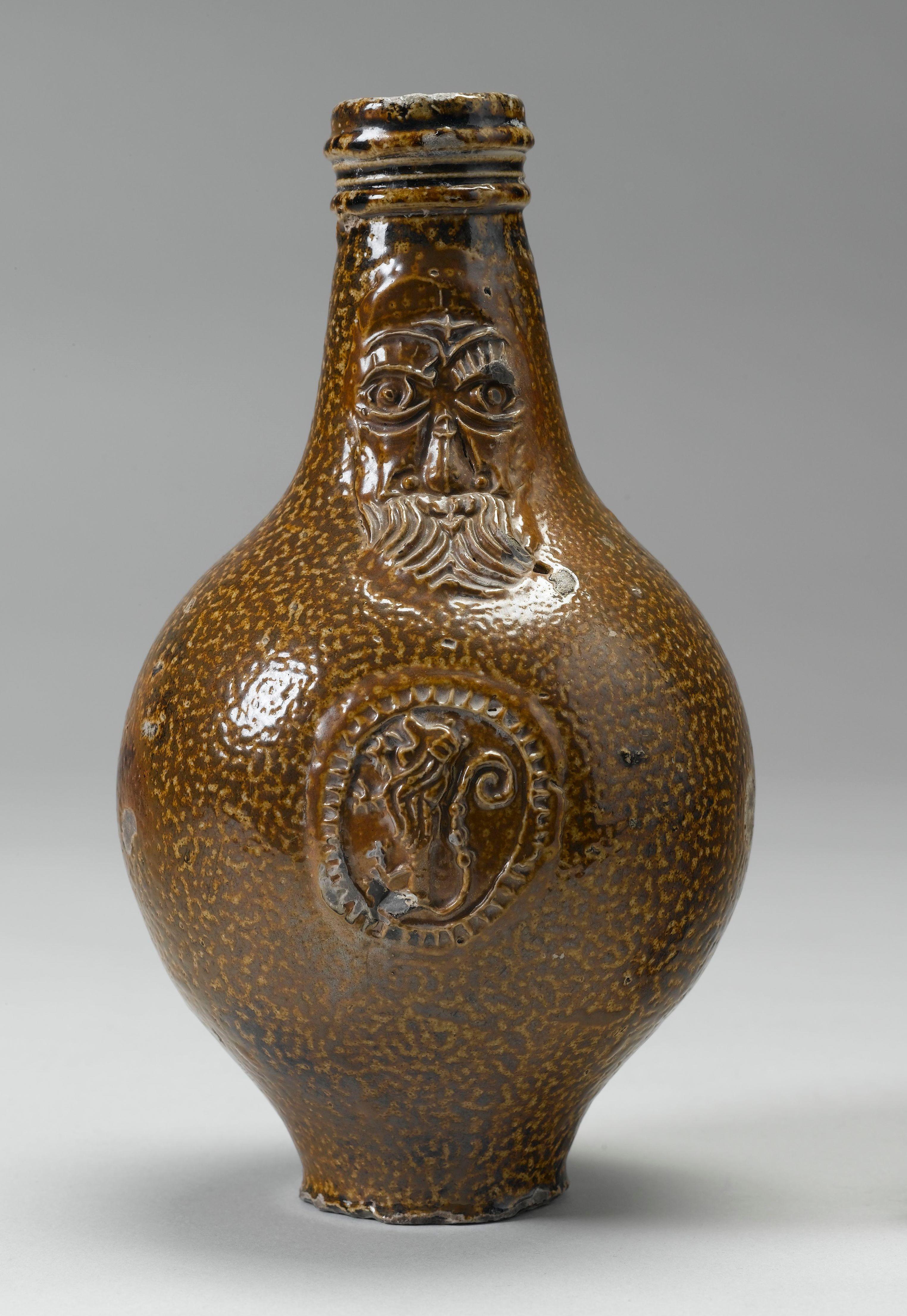 Bellarmine or greybeard german salt glazed pottery royal