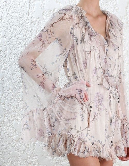 add8415a8e Zimmermann Paradiso Floating Playsuit