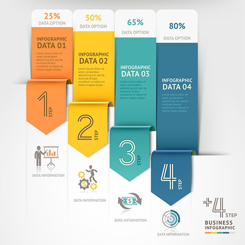 Business Arrow Infographics Template презентации Pinterest