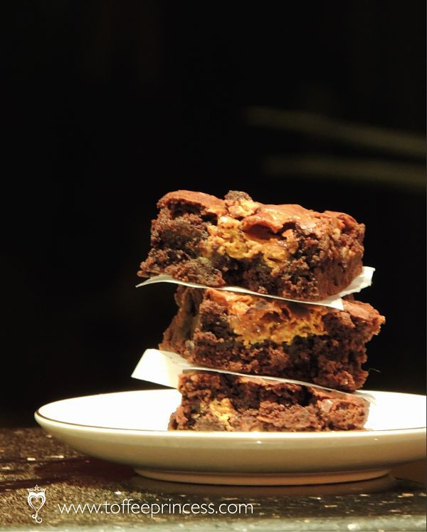 Toffee Princess Salted Dulce de Leche Brownies