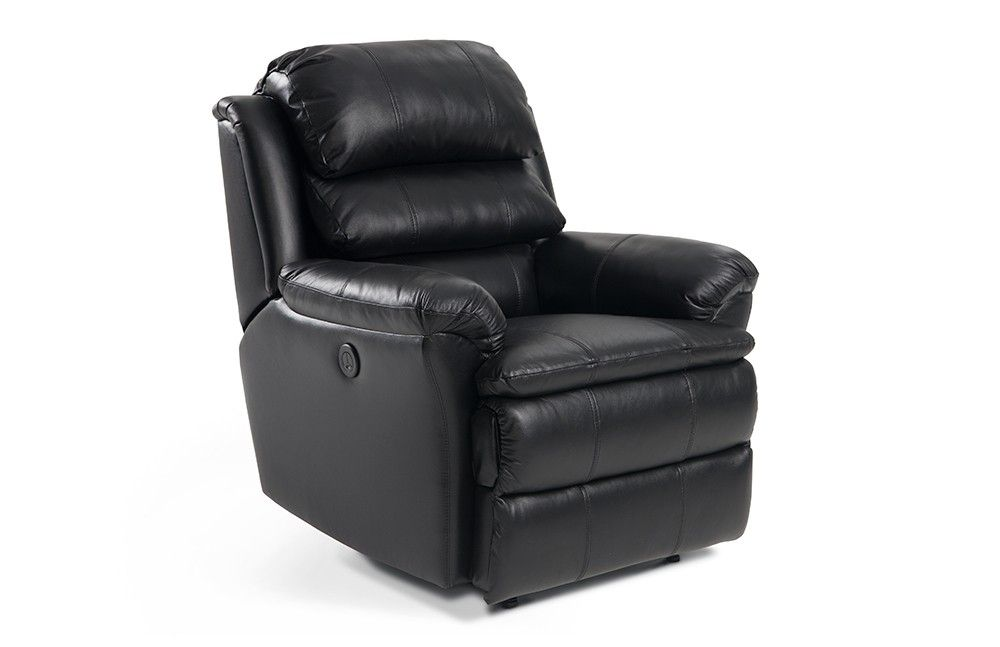 Leather Bob O Pedic Power Recliner Power Recliners Recliner