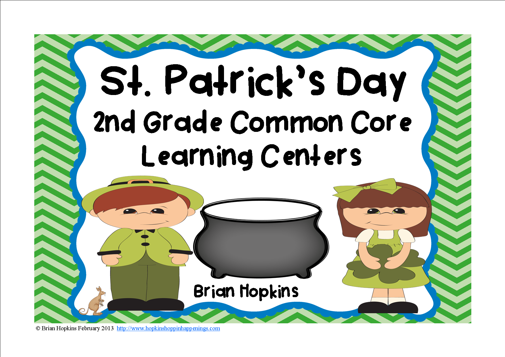 St Patrick S Day 2nd Grade Centers