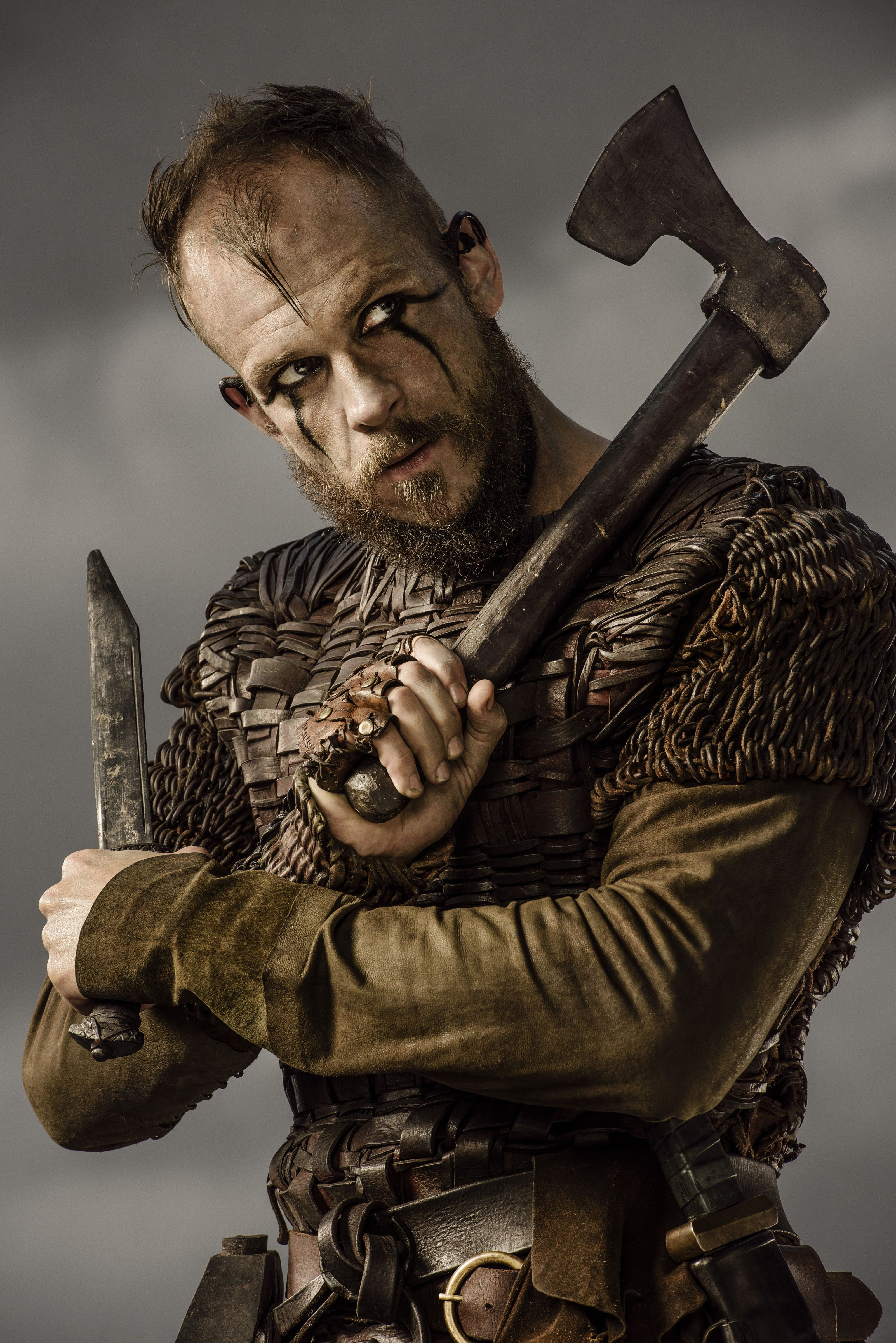 Exceptionnel GustafSkarsgård #Floki #Vikings #HistoryChannel Season Three Promo  CE94