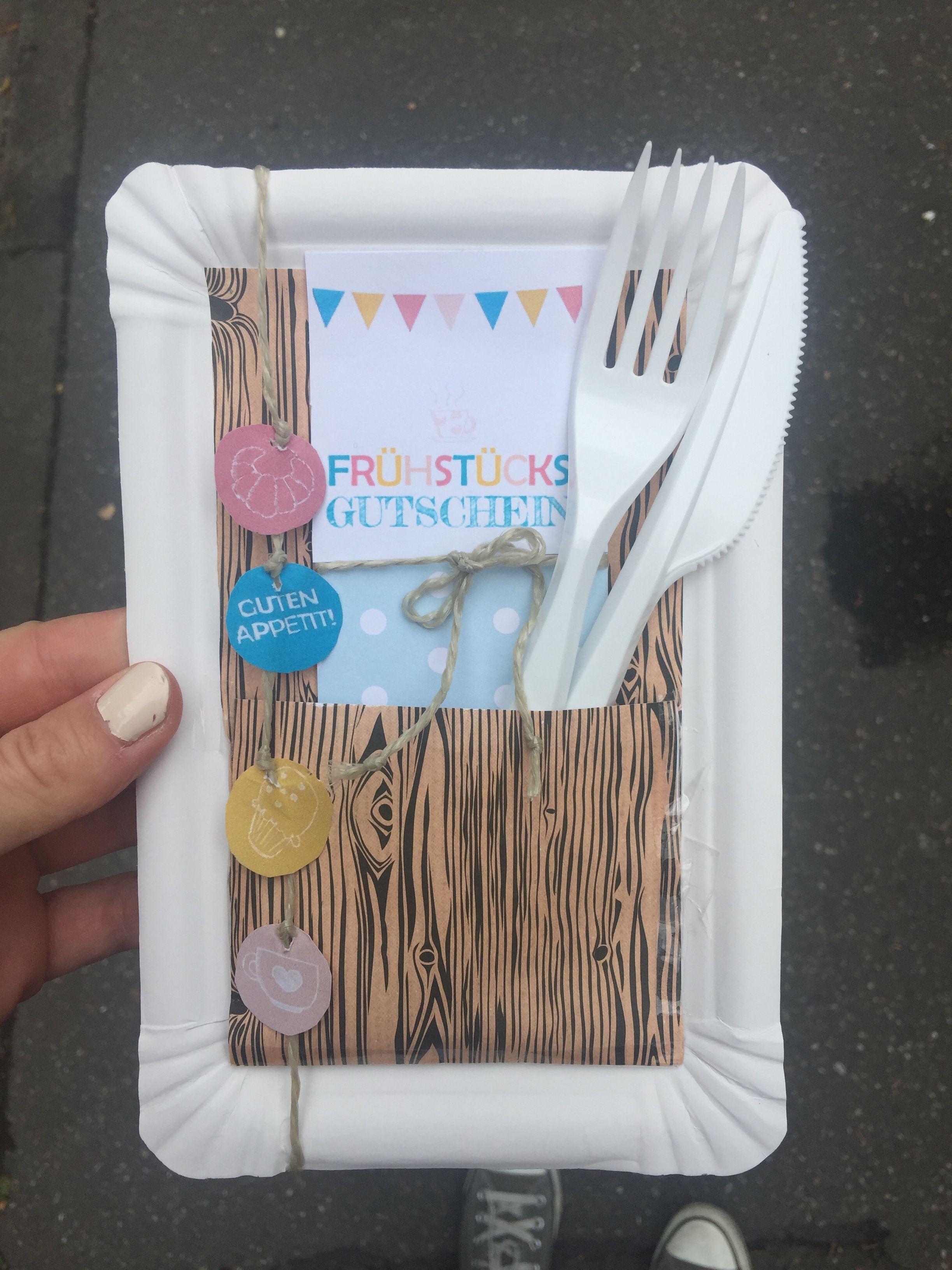 Frühstücksgutschein Selbst Basteln Geburtstagsgeschenke