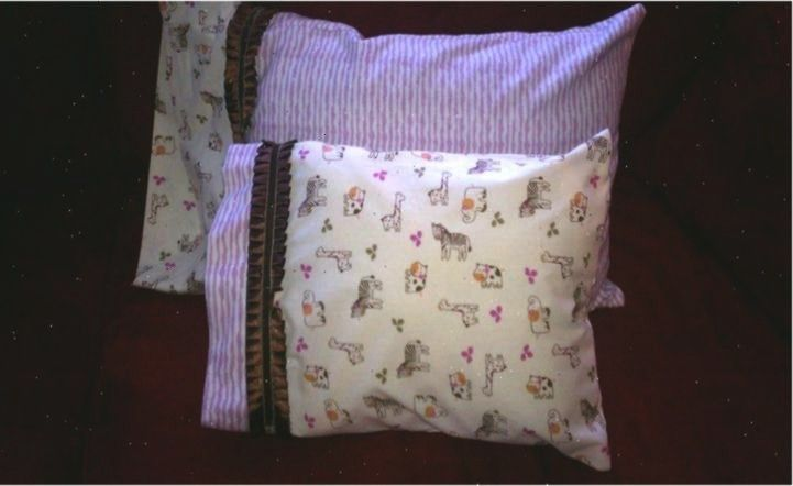 Pillows and Pillow Case for a friends baby shower gift for daughter   Homemade Pillows and Pillow Case for a friends baby shower gift for daughter in Homemade Pillows and...