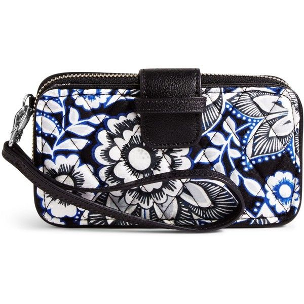 Vera Bradley RFID Smartphone Wristlet ( 54) ❤ liked on Polyvore featuring  accessories 9a931bc94a9f4