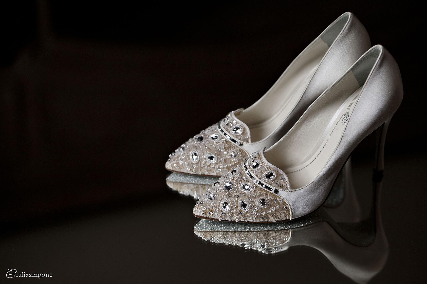 Scarpe Sposa Como.White And Blush Rene Caovilla Wedding Shoes Venice Wedding