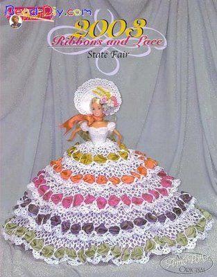 Barbies com vestidos de Croche II