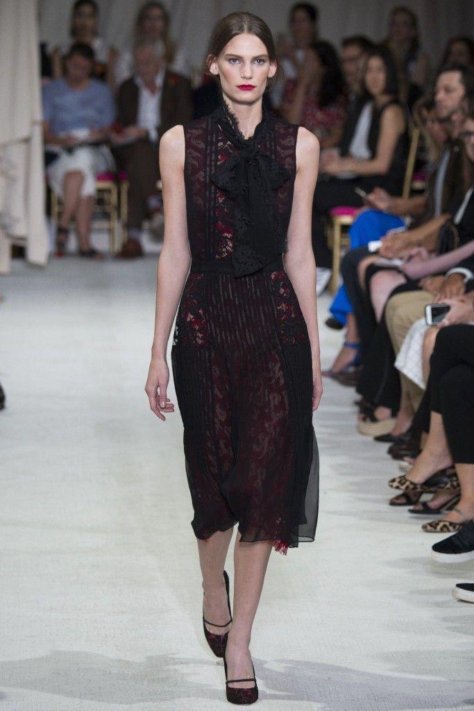 Oscar de la Renta Spring 2016 #Fashion #NYFW #NYFW2015 #Style #FashionShow