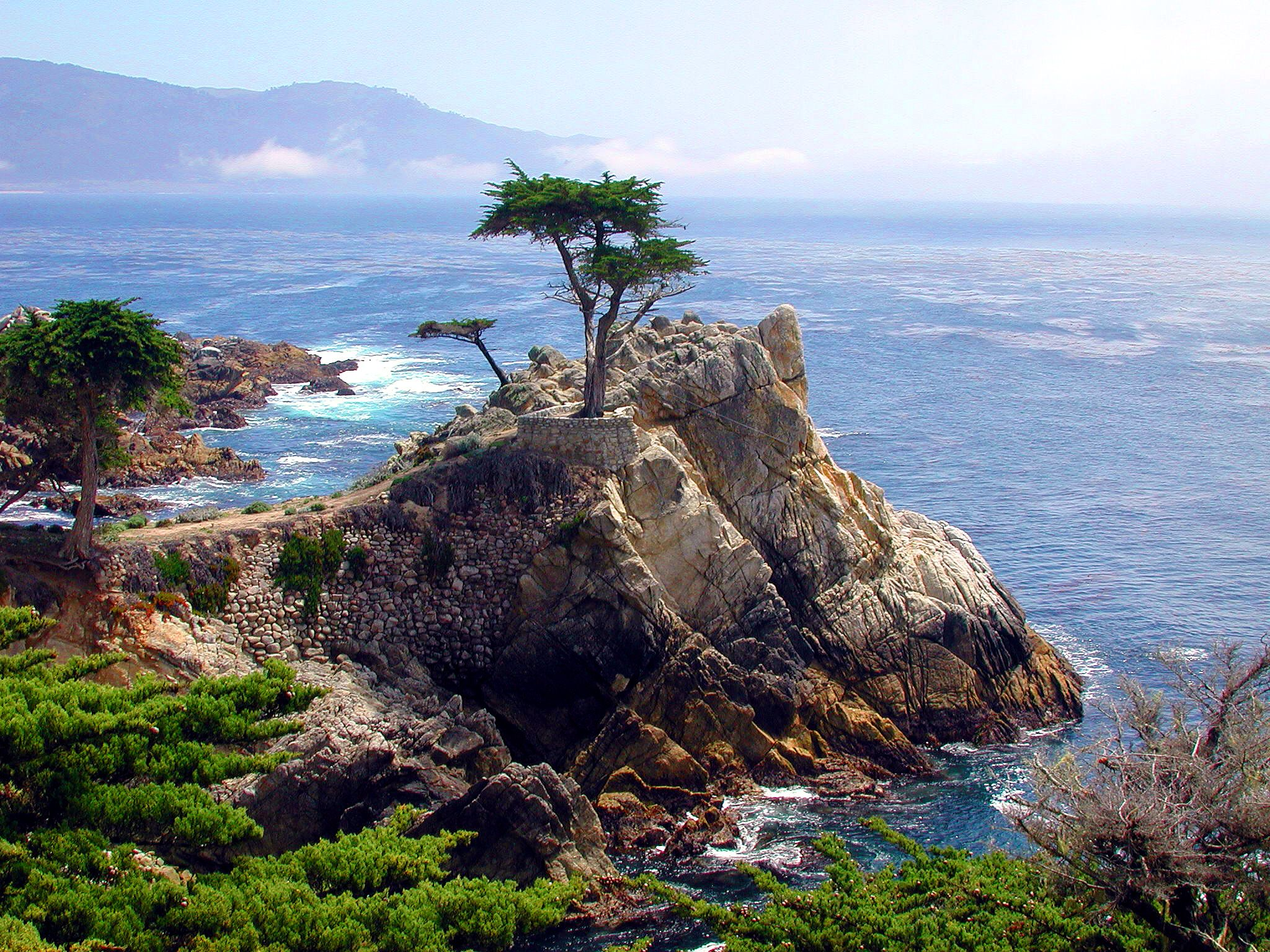 The Lone Cypress On The 17 Mile Drive Pebble Beach Ca Carmel By The Sea Scenic Pebble Beach