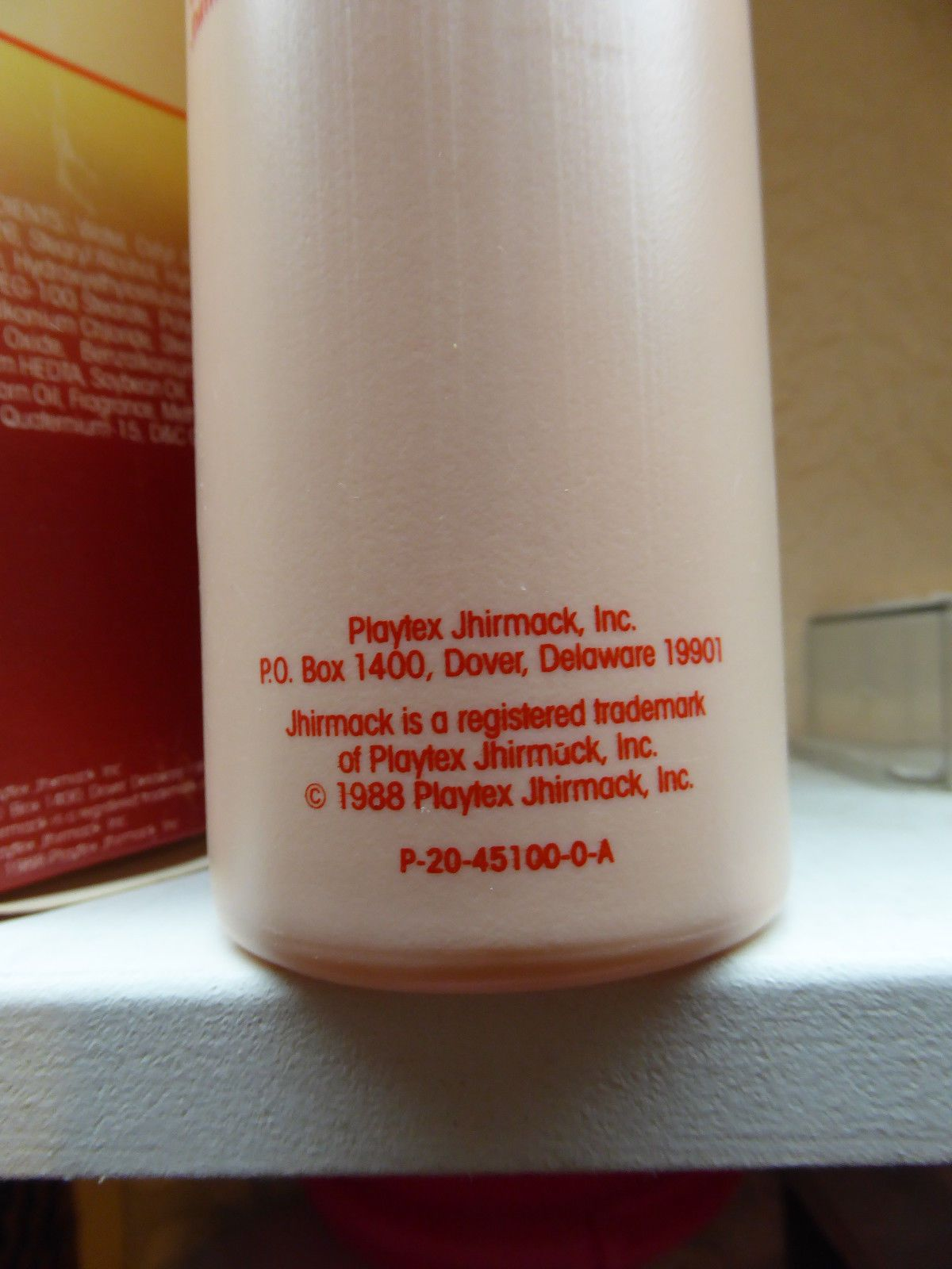 Vtg Jhirmack Hair Conditioner Efa Huge 15 Oz Nos Permed Color