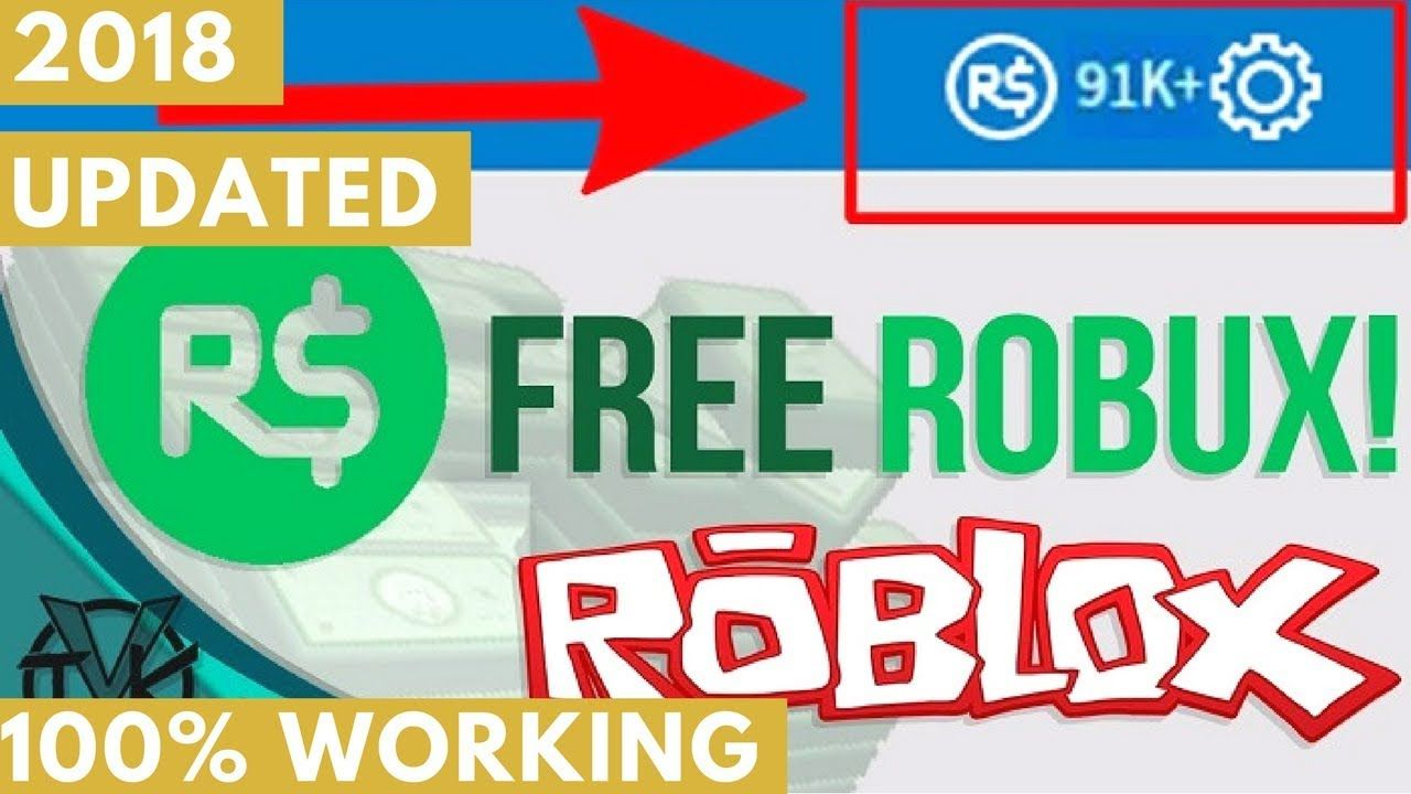 How to get free unlimited robux on roblox 2018 100