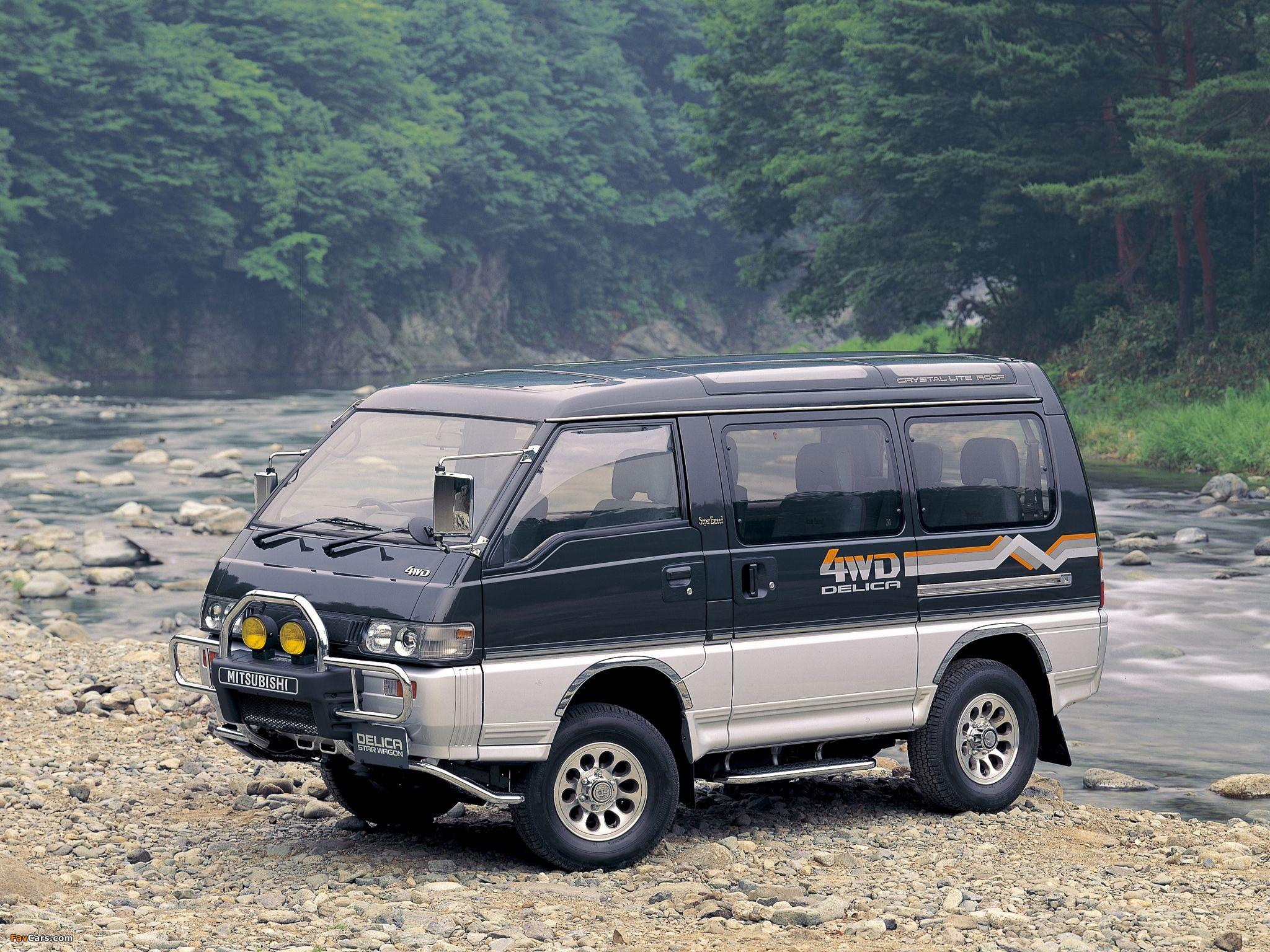 4 wheel dr delica van - Google Search