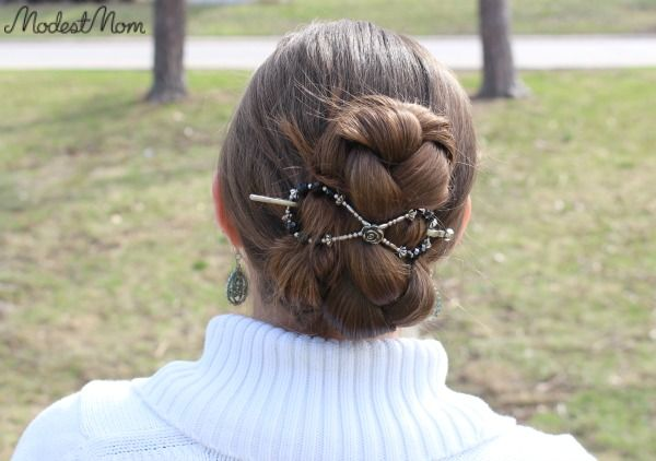 Quick hair tip- Braid hair and put it up in an x-large flex clip. Now that the weather is getting a little bit warmer I've been putting my hair up so much more. I found a new organizer for my clips that I'll have to share about soon. It has been so wonderful to easily find what clip I want in each size, versus having them all thrown in a basket together!