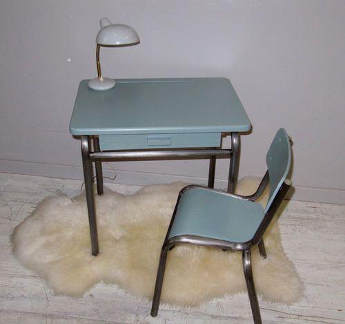 Bureau dcole maternelle annes 5060 desMerveilles Vintage