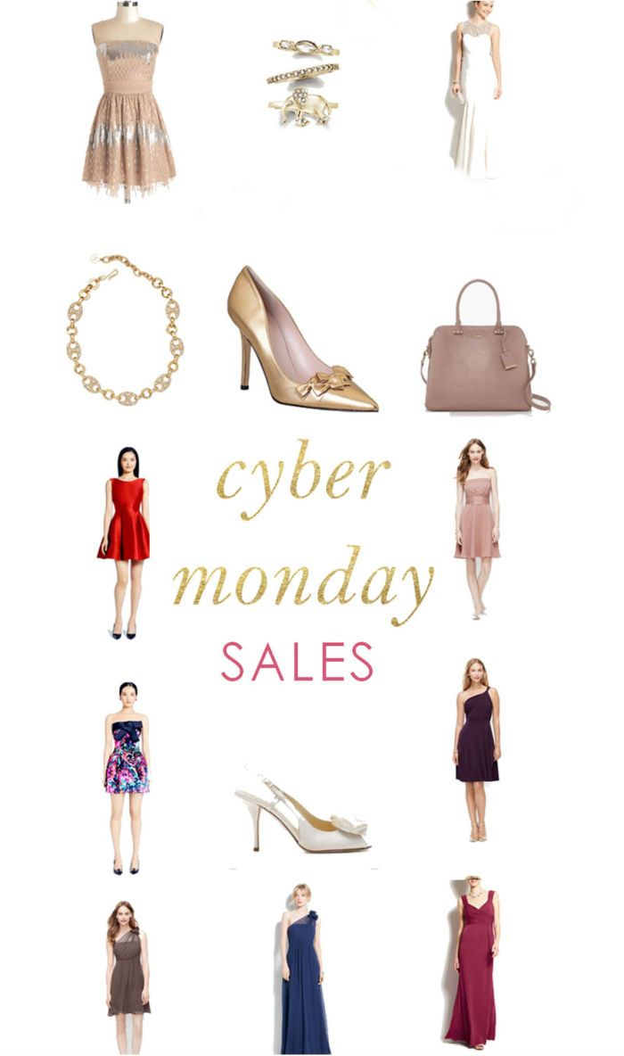 List of Cyber Monday Sales for 2014: Where to save on Wedding dresses, bridesmaid dresses, invitations and holiday gifts!