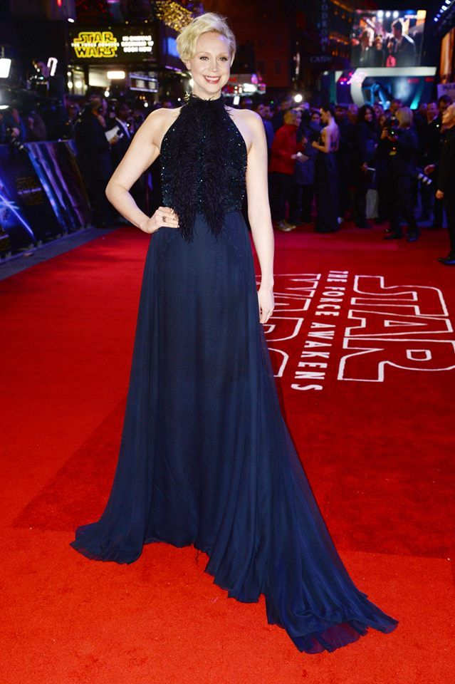 Gwendoline Christie 'Star Wars: The Force Awakens' - UK Premiere (London) 16 December 2015