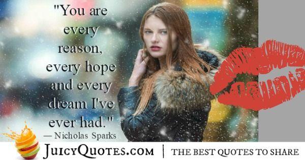 Cute Love Quote - Nicholas Sparks 3