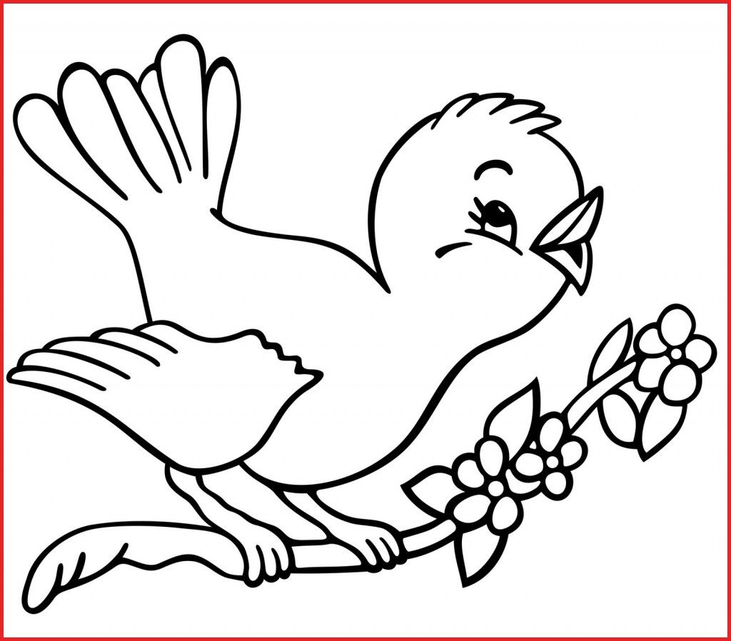 Free Bird Coloring Pages For Your Kids Bird Coloring Pages