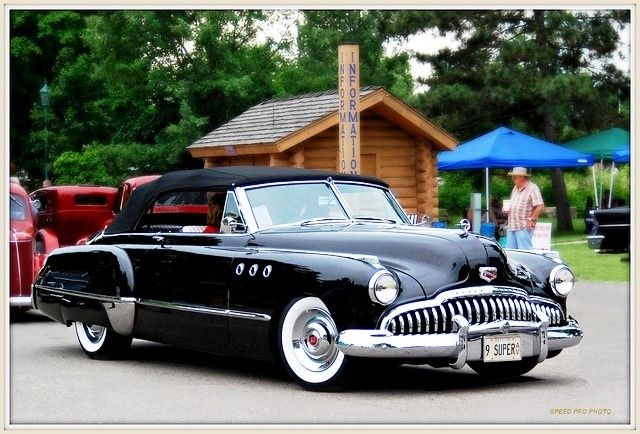 1949 Buick Convertible One Of The Most Beautiful Cars