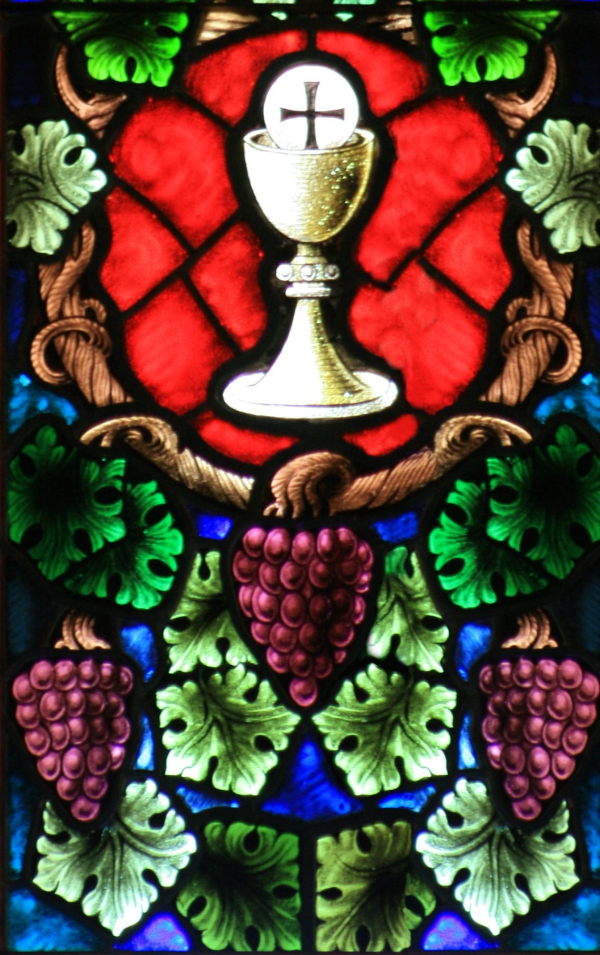 Holy Grail Chalice And Trinity Grapes Eucharistic Adoration Chalice Art Inspiration