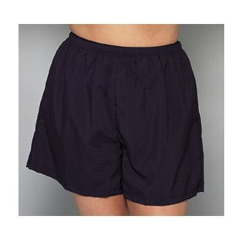 10e7207c43 ... Swimsuits Just For Us. *30% OFF* Plus Size Quick Dry Shorts -No Panty  -Black